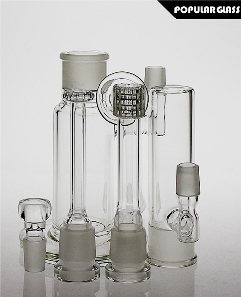 34.5cm tall glass bong matrix perc smoking water pipe shower head perc oil Rigs joint size 18.8mm