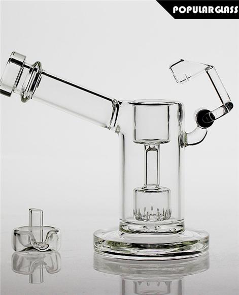 Mini Dab Rig with Quartz Honey Bucket Clear [PG5043] - $35 90