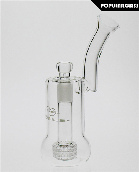 24cm Tall Mobius Glass Mobius Nuc Matrix glass bongs Clear Female joint size 18.8mm