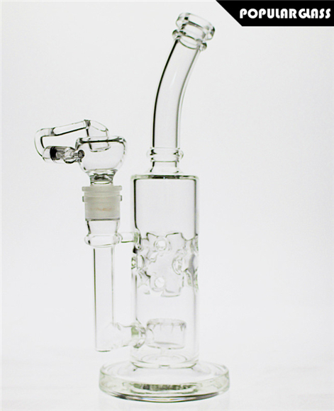 27CM Tall Mothership Straight FAB Oil Rigs Mothership Glass Bongs Female Joint Size 14.4mm